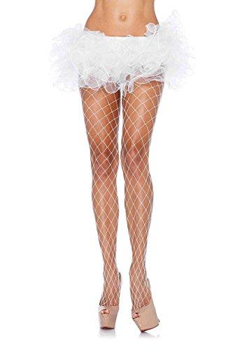 Leg Avenue Womens Fence Net Pantyhose