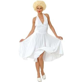 Marilyn - Disfraz de Marilyn adultos, talla M (EF-2052. M)