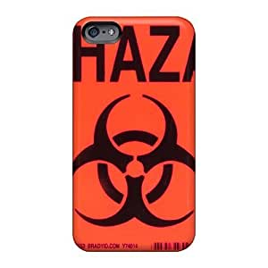 Bumper Cell-phone Hard covers cases for Happy Christmas and New year For Apple Iphone 6plus (ysh546KHvH) Unique Design Beautiful Biohazard Band Image