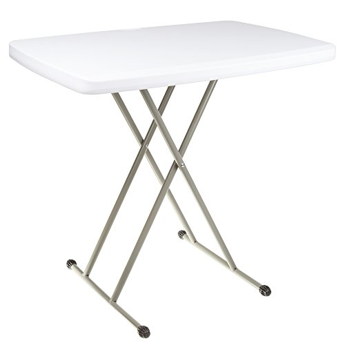 Everyday Home Folding Table, Foldable Table and TV Tray by, 30 x 20 x 28 (Great for Laptops) by Everyday Home