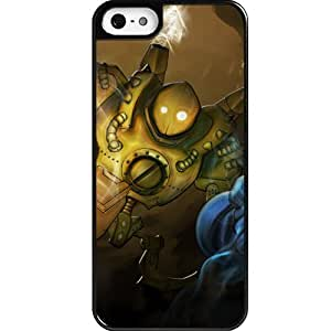 Custom personalized Protective Case for iPhone 5 - Game League of Legends LOL Blitzcrank