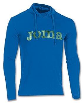 Joma Brama Cross M/L Sudadera con capucha, Hombre, Azul (Royal 717