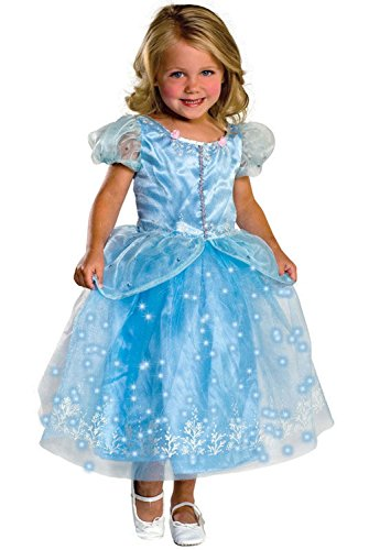 Mememall Fashion Classic Crystal Princess Girls Toddler/Child Costume (Classic Burlesque Costumes)