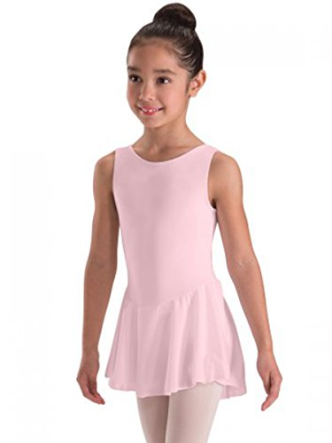 Motionwear Tank Skirted Leotard (Child Intermediate, Pink)