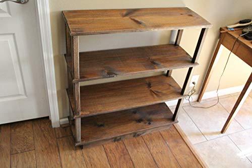 Traditional Pine Bookcase (Bookshelf, bookcase, children's bookshelf, pine bookshelf, office furniture)