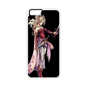 Terra Branford Final Fantasy Vi 3 funda iPhone 6 4.7 Inch Cubierta blanca del teléfono celular de la cubierta del caso funda EVAXLKNBC17301