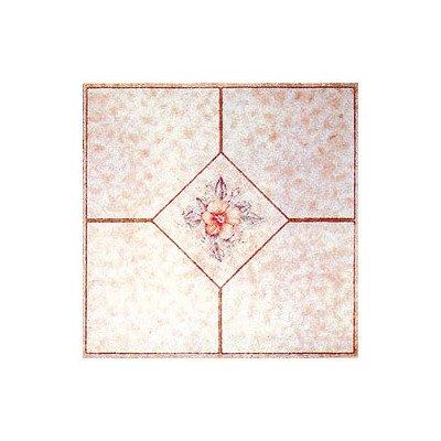 Home Dynamix 1002 Dynamix Vinyl Tile, 12 by 12-Inch, Beige, Box of 20