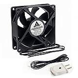 60mm ac fan - GDSTIME EC Cooling Fan 60mm x 60mm x 25mm AC 110V 115V 120V 220V 240V