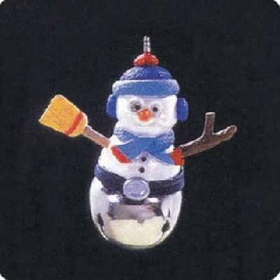 Christmas Bells 3rd in Series 1997 Miniature Hallmark Ornament QXM4162
