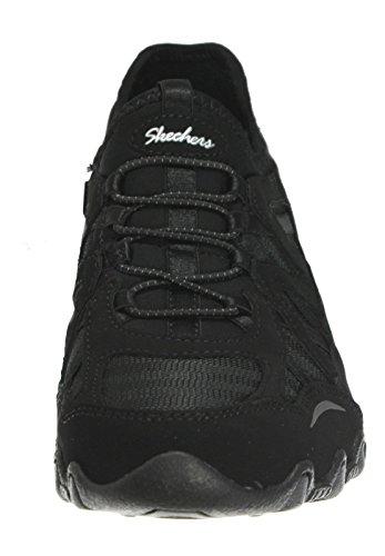 Skechers Sport Damen Verifizierter Fashion Sneaker Schwarz / Schwarz / Kohle