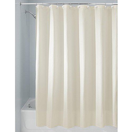 InterDesign Carlton Fabric Curtain Natural