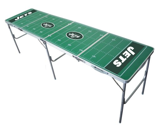 New York Jets 2x8 Tailgate Table by Wild Sports