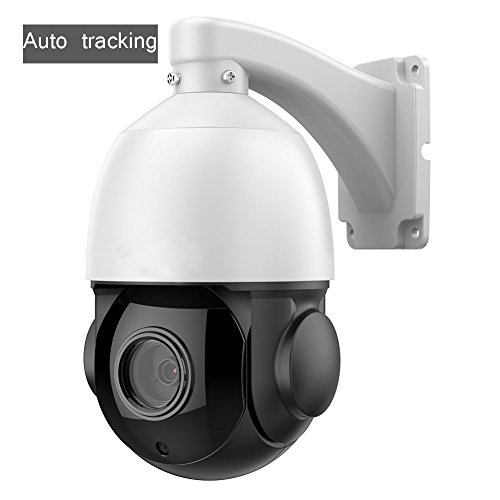 WGCC 2MP Mini IR Auto Tracking PTZ Security Dome Camera H.264 Onvif Ip66 Full 1080P Pan Tilt 18X Optical Zoom For Outdoor and Indoor Cctv Camera