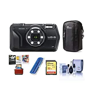 Amazon.com: Ricoh WG-6 - Cámara digital con funda para ...