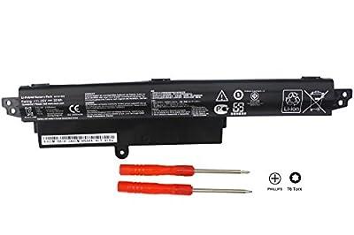 "Baturu New A31N1302 Laptop Battery for ASUS VivoBook X200M X200CA X200MA F200CA K200MA 11.6"" K200MA-DS01T A31LMH2 1566-6868 0B110-00240100E 0B110-00240000M - 11.25V 33WH - 18 Months Warranty from Baturu"