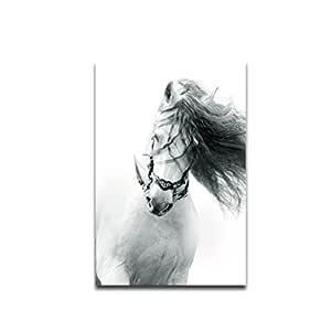 Mengonee Funcionamiento del caballo blanco corcel de ...