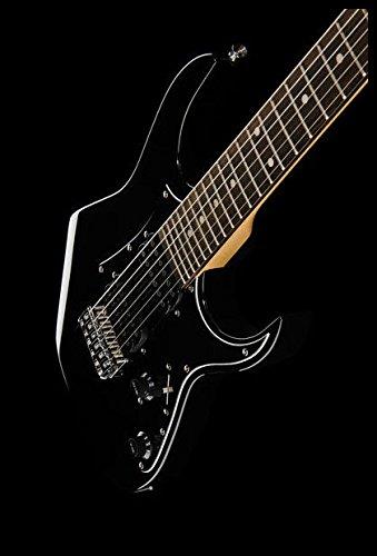 Guitarra eléctrica para niños Mod.Rock Harley Benton rg-junior BK: Amazon.es: Instrumentos musicales