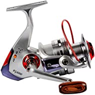 [Sponsored]Spinning Reels Spinning Fishing Reel Light Weight Ultra Smooth Powerful with Shielded...