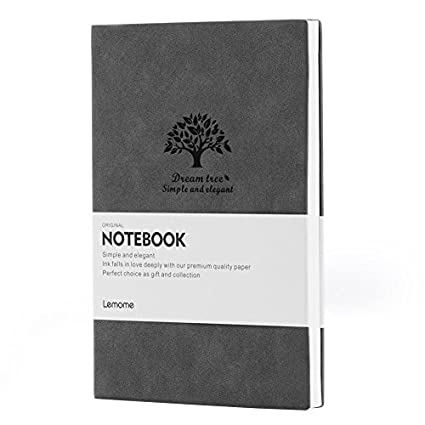 amazon com graph paper notebook lemome premium thick paper soft