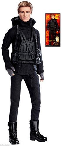 Barbie Collector Black Label The Hunger Games Mockingjay Part 2 Peeta NIP 2015