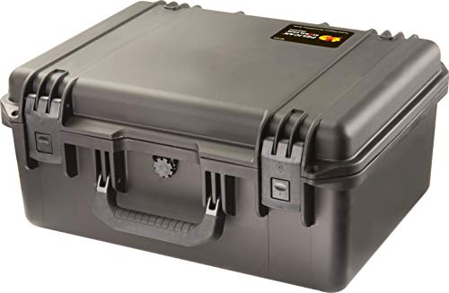 Waterproof Case (Dry Box) | Pelican Storm iM2450 Case With Foam (Black) (Case Storm Small)