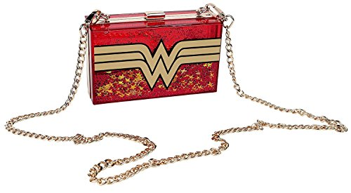 oro Wonder Logo rojo Woman rojo oro Bolso IfC4xwf8q