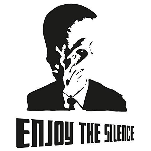 "Nukular Langarm T-Shirt ""Enjoy the Silence"", wenn die Stille kommt: genießt sie..."