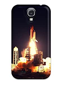 For Galaxy S4 Protector Case Shuttle Launch Phone Cover 8637609K30185022