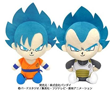 Dragon Ball Cho (super) Super Stuffed toys mini SSGSS Super Saiyan God Super Saiyan