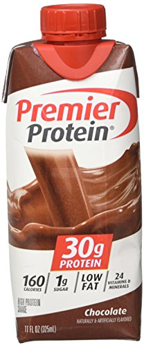 Premier Protein High Protein Shake, Chocolate 12 Pack
