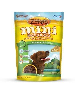 ZUKE'S - MINI NATURALS DOG DUCK 1LB by Zuke's
