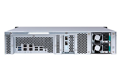 Qnap TS-873U-RP-16G-US 2U 8-bay NAS/iSCSI IP-SAN, 10GbE, Redundant PSU by QNAP (Image #3)