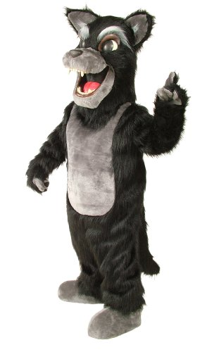 [ALINCO Big Bad Wolf Mascot Costume] (Alinco Costumes)