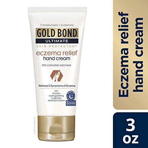 Gold Bond Eczema Relief Hand Cream, 3 Ounce (Cream Hand Eczema)
