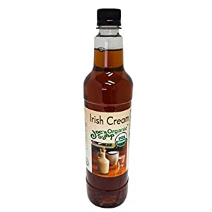 Joe's Syrup Organic Flavored Syrup, Organic Irish Cream, 750 ml