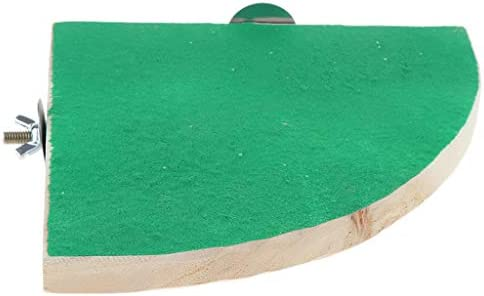 ペット用 木製のハムスター プラットフォーム セクターの形 木材素材 2個セット