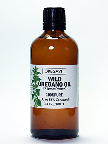 100 Pure Wild Greek Oregano Oil Food Grade Quality. Certified. 3.4 FL.OZ 100ML