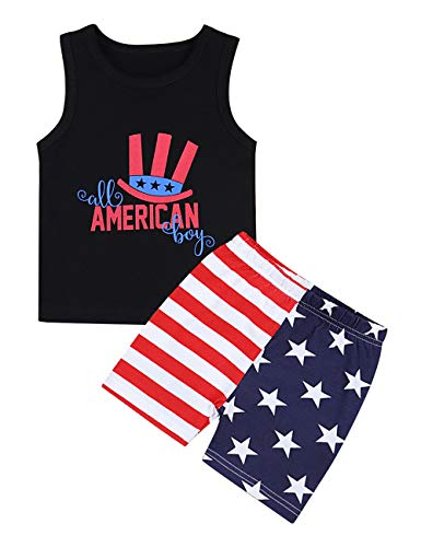 4th of July Toddler Baby Boys Patriotic Outfits