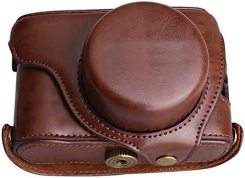 Color : Black PU Leather Camera Case Shoulder Bag Hard Bags Shoulder Strap for Fujifilm Fuji X100 X100S Finepix Black Coffee Color Choose