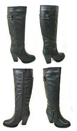 SKOS, Damen Stiefel & Stiefeletten Black (1255)