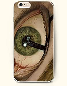 OOFIT New Apple iPhone 6 ( 4.7 Inches) Hard Case Cover - Baggy Dazed Eye by supermalls