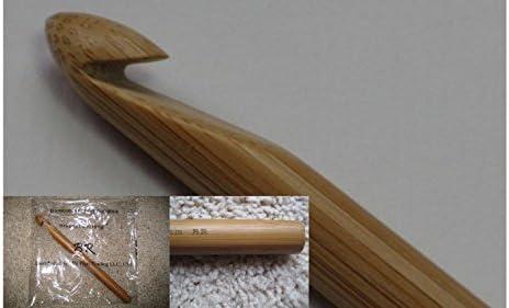 [해외]BrilliantKnitting (BR brand registered) Jumbo bamboo crochet hook Size 12 mm (US P) / BrilliantKnitting (BR brand, registered) Jumbo bamboo crochet hook Size 12 mm (US P)