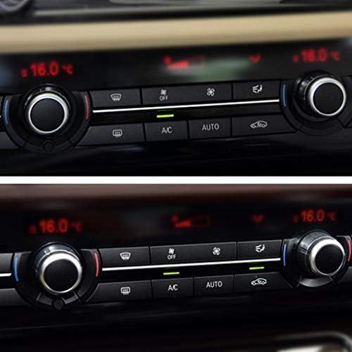 F11 F18 10-16 Uzinb 61319313922 Plastique ABS Climatisation Volume Bouton Remplacement de Voiture pour BMW F10