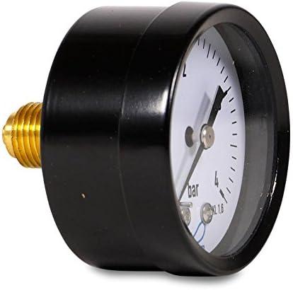 Manometer 50 mm Außengewinde hinten 1/4\'\'