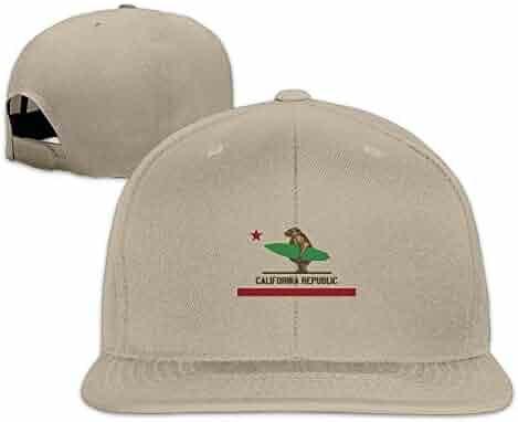 ... Cowboy Hat Fashion Baseball Cap for Men and Women. (0). YiCYiS California  Surfing Bear Longboard Unisex Adjustable Snap Back Caps e9f80007e509