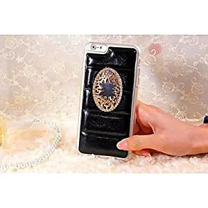 LCJ Leather Style Design Mirror PC Pattern Hard Case for iPhone 6