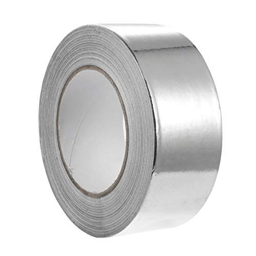 Aluminum Tape – 55 Yards Aluminum Foil Tape HVAC, Ducts, Insulation Equipment Repair adhesive (Aluminum Air Conditioning)