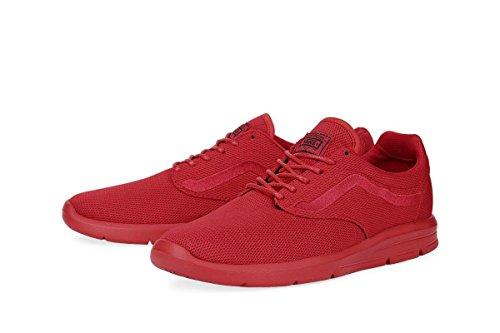 Vans Red Adults' Top Sneakers Low Mono Unisex 5 Iso 1 16xUr1p