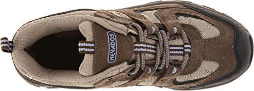 Product image of Nevados Women's Boomerang II Low Hiking Trail Shoe, Chocolate Chip/Stone/Lavender, 9 M US