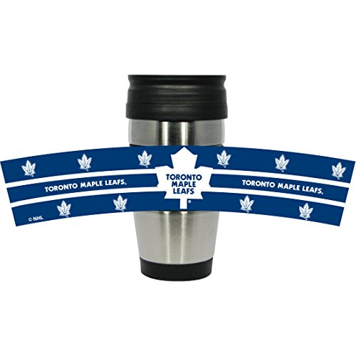 hunter-manufacturing-nhl-toronto-maple-leafs-stainless-steel-travel-tumbler-with-3d-logo-wrap-15-oun